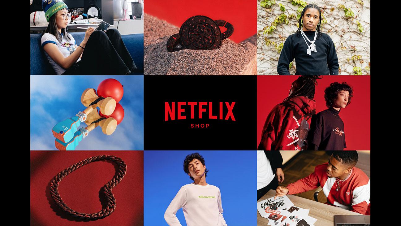 Netflix launches its all-new e-commerce website!