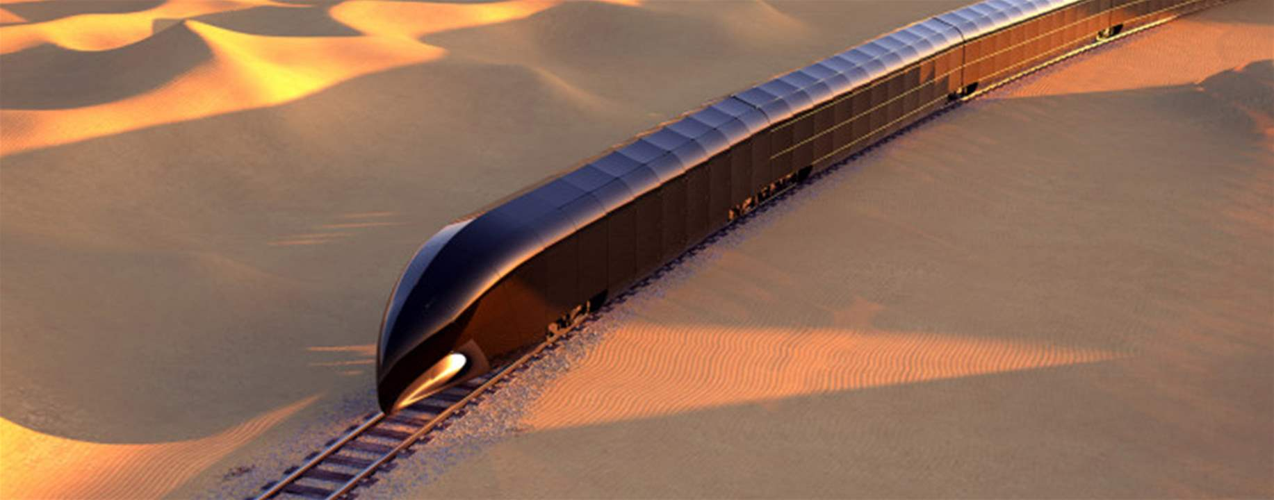 """$350M luxury train concept described as a """"Palace on Rails"""""""