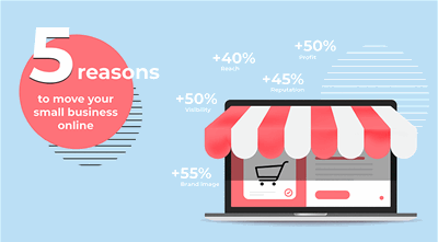 5 Reasons to move your small business online