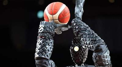 Robot basketball player wows viewers at the 2020 Olympics